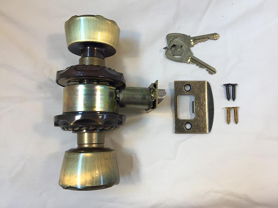 Carriage House Keyed Door Lockset & Amerock Door Locks | Stan the Old Hardware Man